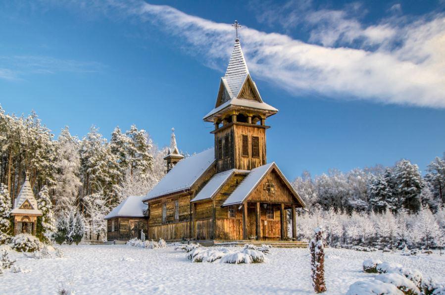 Zima w Zaborku